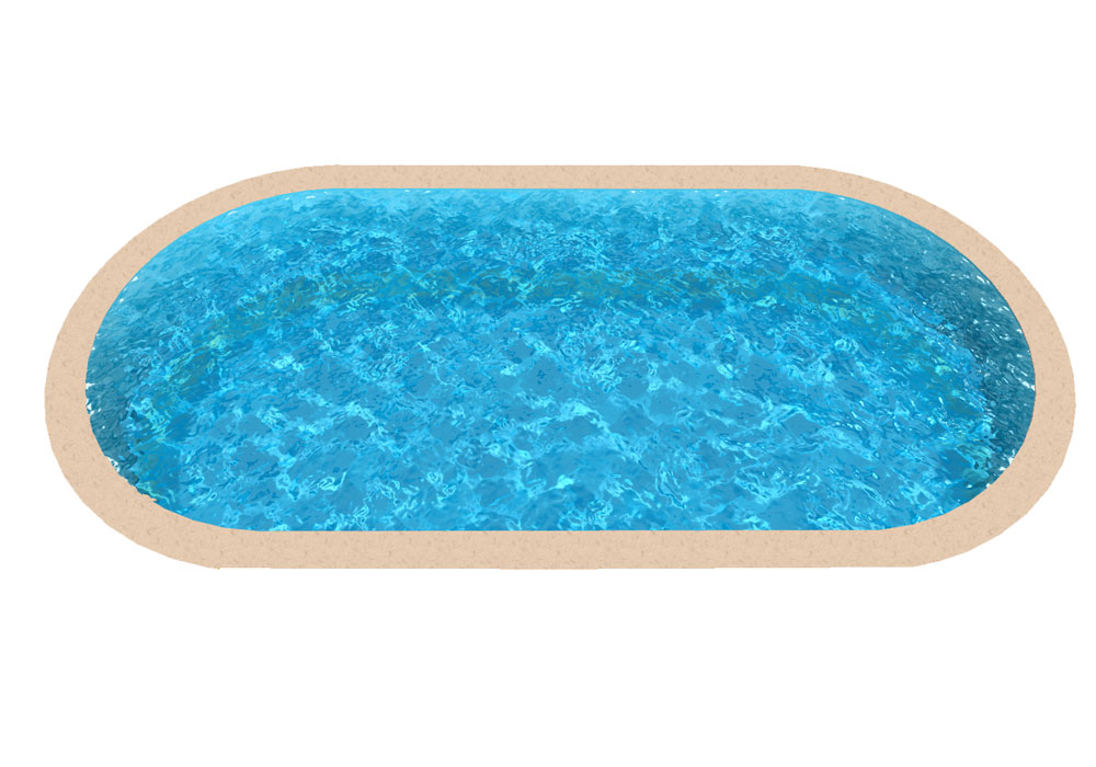Liner piscine enterr e for Liner pour piscine en 8