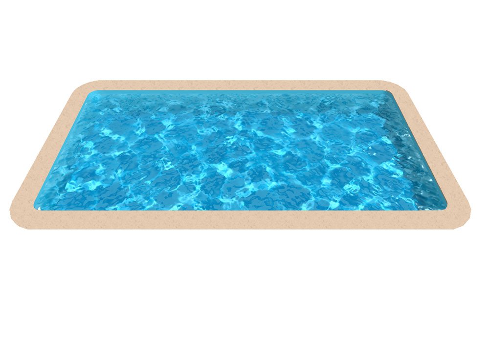 Liner piscine enterr e for Liner pour piscine enterree rectangulaire