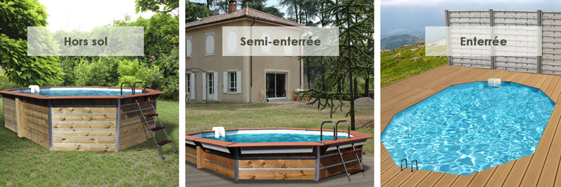 Exemple d'implantation piscine waterclip optimum kea